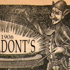 Donts from 1906