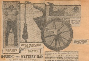 Houdini The Mystery Man
