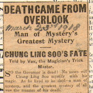 Chung Ling Soo's Fate