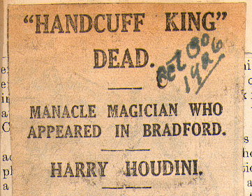 """HANDCUFF KING"" DEAD"