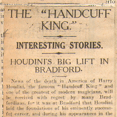 "The ""Handcuff King"" Interesting Stories"