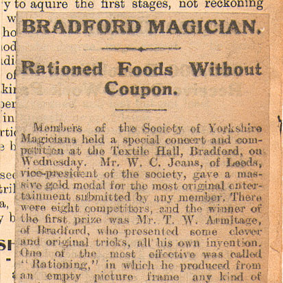 Rationed Foods Without Coupon