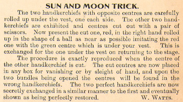 Sun And Moon Trick