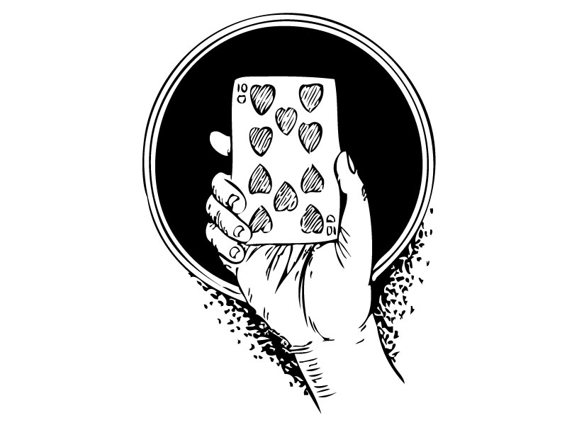 The Gamage Card And Die Illusion